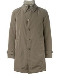 Abrigo largo marrón de Herno