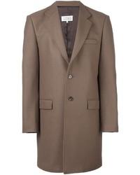 Abrigo largo marrón de Maison Margiela