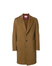 Abrigo largo marrón de Paltò