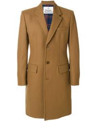 Abrigo largo marrón de Vivienne Westwood