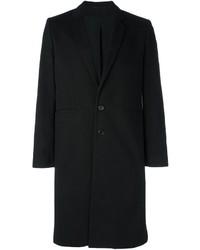 Abrigo largo negro de Ann Demeulemeester