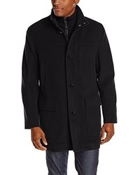 Abrigo largo negro de Cole Haan