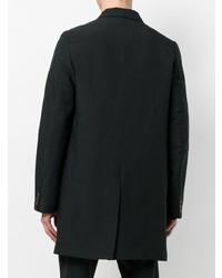 Abrigo largo negro de Comme Des Garcons Homme Plus