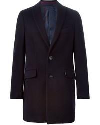 Abrigo largo negro de Etro