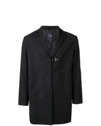 Abrigo largo negro de Fay