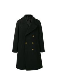 Abrigo largo negro de Givenchy
