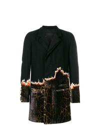 Abrigo largo negro de Haider Ackermann
