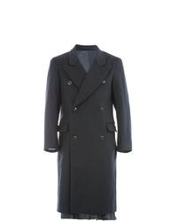 Abrigo largo negro de Hed Mayner