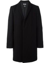 Abrigo largo negro de MSGM