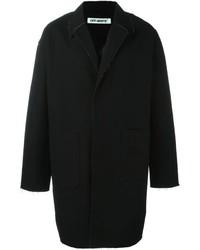 Abrigo largo negro de Off-White