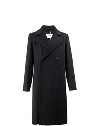 Abrigo largo negro de Ports 1961