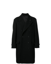 Abrigo largo negro de Tom Ford