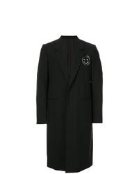 Abrigo largo negro de Undercover