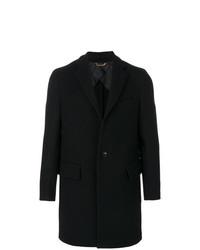 Abrigo Largo Negro de Versace