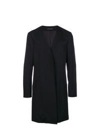 Abrigo largo negro de Yohji Yamamoto
