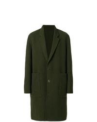 Abrigo largo verde oliva de Études