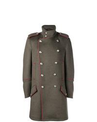 Abrigo largo verde oliva de Diesel Black Gold