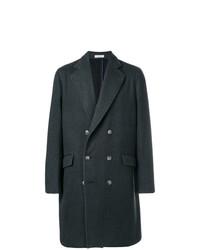 Abrigo largo verde oscuro de Boglioli