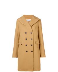 Abrigo marrón claro de Carven