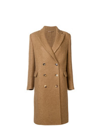 Abrigo marrón claro de Ermanno Scervino