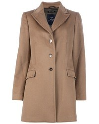 Abrigo marrón claro de Fay
