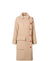 Abrigo marrón claro de Kenzo