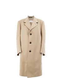 Abrigo marrón claro de Maison Margiela