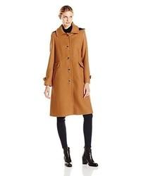 Abrigo marrón claro de Pendleton