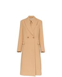 Abrigo marrón claro de Stella McCartney