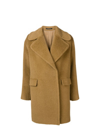 Abrigo marrón claro de Tagliatore