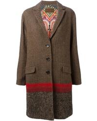 Abrigo marrón de Etro