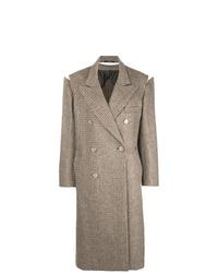 Abrigo marrón de Maison Margiela