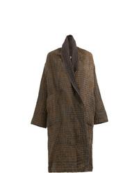 Abrigo marrón de Uma Wang