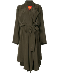 Abrigo marrón de Vivienne Westwood