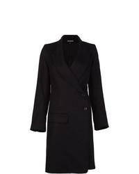 Abrigo Negro de Ann Demeulemeester