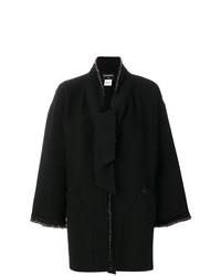 Abrigo negro de Chanel Vintage
