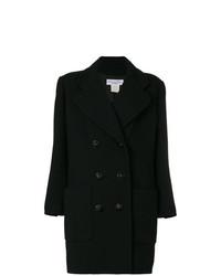 Abrigo negro de Christian Dior Vintage