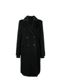 Abrigo negro de Ermanno Scervino