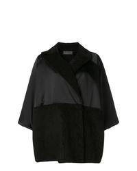 Abrigo negro de Gianluca Capannolo