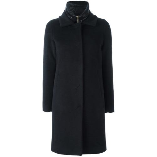 Abrigo negro de Herno