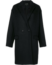 Abrigo negro de Isabel Marant