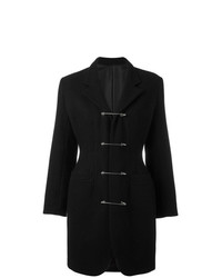 Abrigo negro de Jean Paul Gaultier Vintage