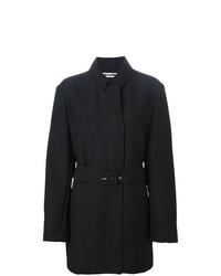 Abrigo Negro de Jil Sander Vintage