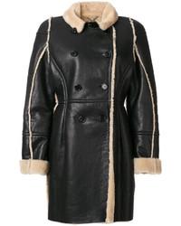 Abrigo negro de Kenzo