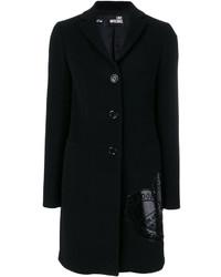 Abrigo negro de Love Moschino