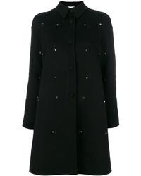 Abrigo Negro de Valentino