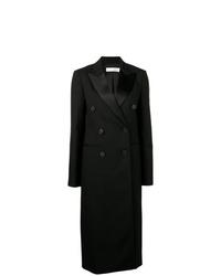 Abrigo negro de Victoria Beckham