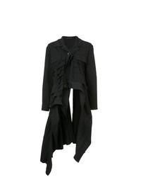 Abrigo Negro de Yohji Yamamoto