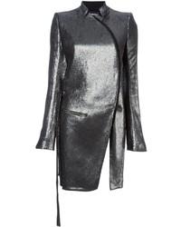 Abrigo plateado de Ann Demeulemeester