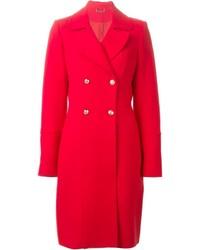 Abrigo rojo de Diane von Furstenberg